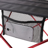 Portable Aluminum Folding Table - - Red,Silver,Blue