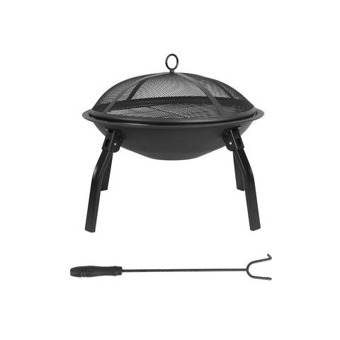 Portable Outdoor Firepit with Carry Bag - Winter - Default Title