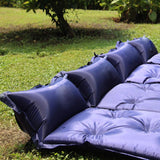 Self-Inflating Mattress for Camping - Sleeping - single blue,single green,double blue,double green,double blue and green