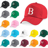 Baseball Cap Kids Letter Hat Girls Boys Childrens Kids Summer Bringt Red