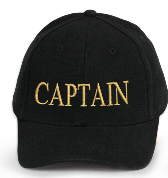 Mens Classic Captain Embroidered Baseball Caps WORK CASUAL SPORTS LEISURE