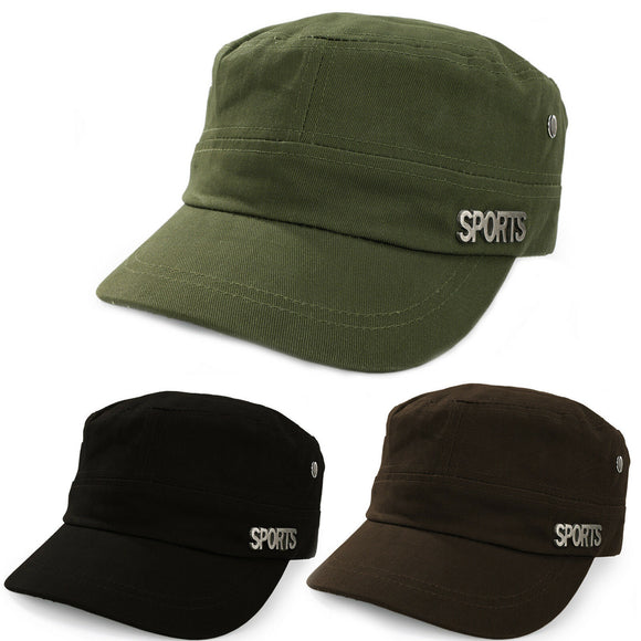 Sport Military Hat Cap Army Cadet Men Women Casual BASEBALL Size Adjustable