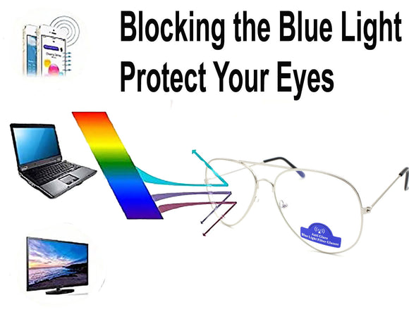 Unisex Glasses Designer Vision Anti Glare Blue Light Filter Computer Gaming Glas