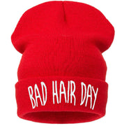 Beanie Hat  Bad Hair Day Woolly Acrylic Unisex Warm Winter Fashion Hat Cap
