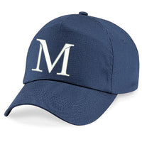 A - Z  Embroidered Baseball Caps Hat Girls Boys Children Kids Summer Navy