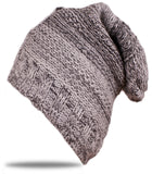 Kniteted Beanie Hat Winter Warm Wooly Mens Ladies Ski Skull Cap Fleece Warm