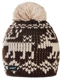 Mens Womens Cable Knitted Bobble Hat Beanie Very Warm Winter Pom Wooly Cap Re