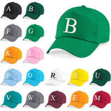 Baseball Cap Kids Letter Hat Girls Boys Childrens Summer Kelly Green