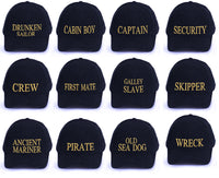 Marine Navy Baseball Caps Hat Girls Boys Childrens Kids Summer Sun Captain