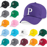 Kids Embroidery Baseball Cap Girls Boys Junior Children Hat Summer A Z Purple