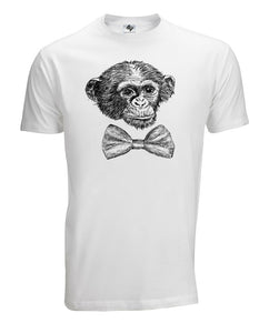 Monkey Party Music T Shirt Present Mens Funny Nerd  Science Gamer
