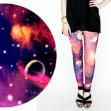 AMERICAN SKULL FULLPRINT LEGGINGS SNOFLAKE CROSS AZTEC KNITTED LEGGINGS