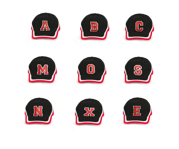 Man Snapback Hat Baseball Cap Hip-Hop Adjustable Bboy Cap Red letters