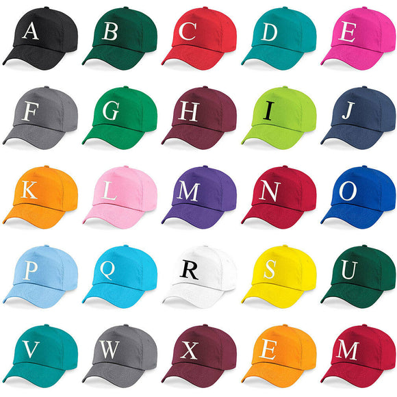 Baseball Cap Kids Letter Hat Girls Boys Children Kids Summer Emerald Green