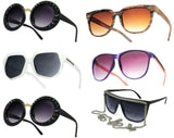Women Round Sunglasses 50s 80s Style Blinder UV400 Summer Holiday Party Glasses