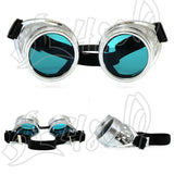 Victorian Cyber Goggles Steampunk Nail Glasses Vintage Retro Welding Punk Gothic