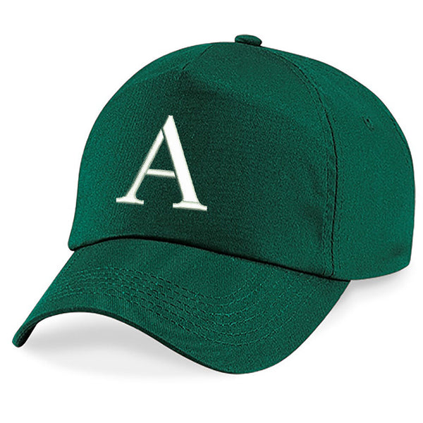 Baseball Cap Kids Letter Hat Girls Boys Children Kids Summer Bottle Green