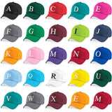Kids Embroidery Baseball Cap Girls Boys Junior Children Hat Summer A Z Pink