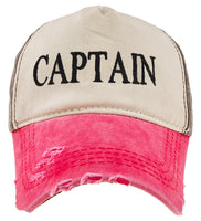Captain Yachting Hat Cap Hat Boat Stag Party Dress Baseball Cap 100% Cottton