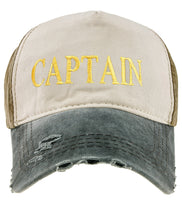 Baseball Cap Yachting Adjustable Strap Boys Mens Summer Hat Cotton Navy Gold