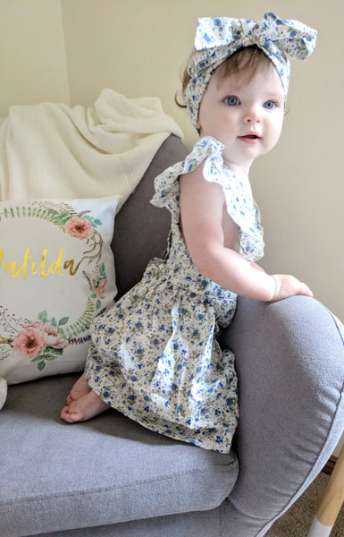 Elsia Flutter Dress