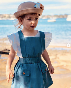 Billie Pinafore Dress