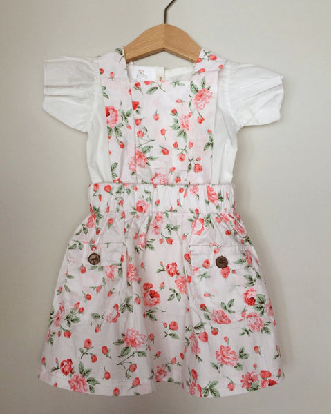 Nevaeh Pinafore Dress