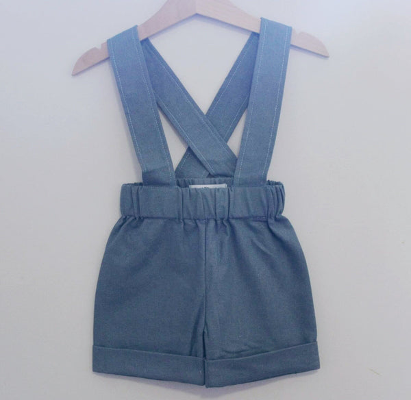 Billie Suspender Shorts