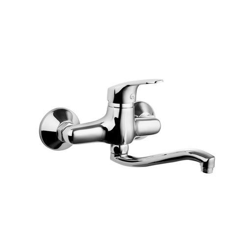 Luna Wall Basin Mixer Swivel Spout