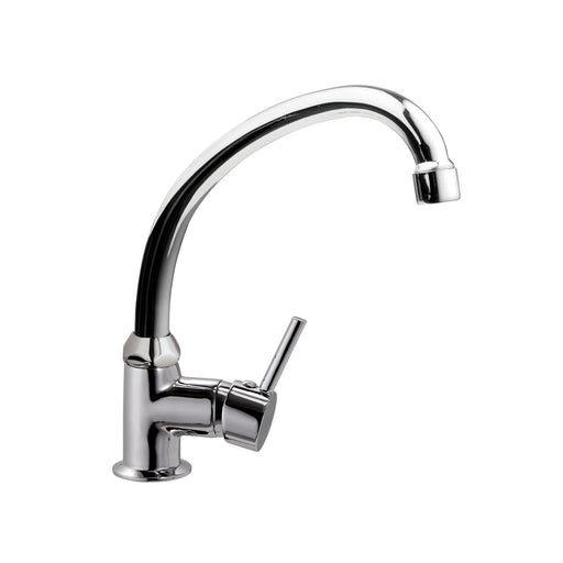 Rondo Tap Kitchen Swivel Spout Single Entry