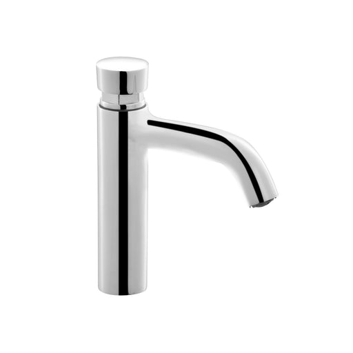 Rondo Self Closing Basin Mixer Single inlet.