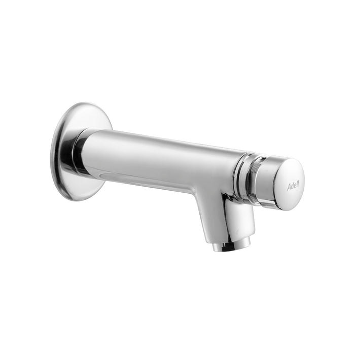 Rondo Self Closing Basin Mixer Single inlet. Wall Mounted