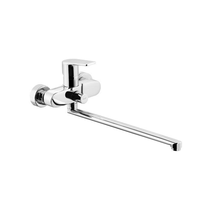 Azure Bath Mixer w. Swivel Spout w. Flühs