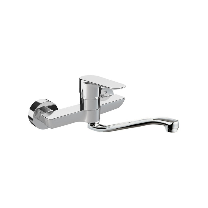 Lea Wall Kitchen Mixer Swivel Spout