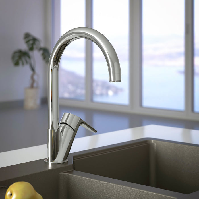 Atlas Kitchen Mixer Swivel Spout
