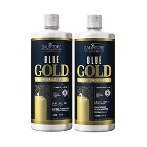 Salvatore Blue Gold Kit Lissage Tanin | Taninoplastie 2*1000ml