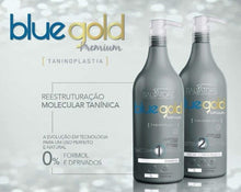 SALVATORE BLUE GOLD PREMIUM KIT LISSAGE TANIN SALVATORE TANINOPLASTIE