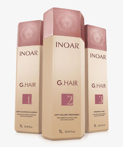Mini Kit Inoar GHair Kit Lissage Brésilien German Keratin Treatment
