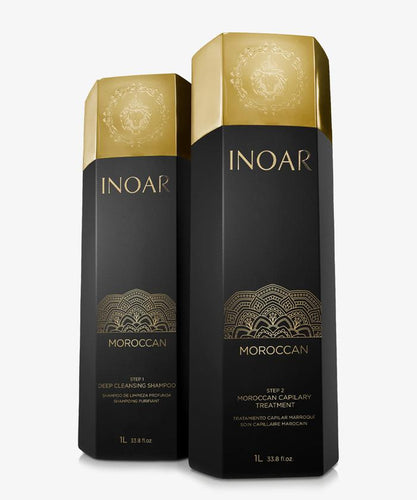 Mini Kit Inoar GHair Kit Lissage Brésilien Marroquino Keratin Treatment Morrocan