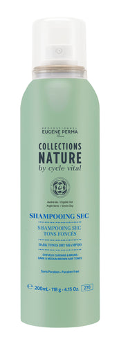 COLLECTION NATURE Shampoing Sec Tons Foncés 200 ML | Eugène Perma Professionnel