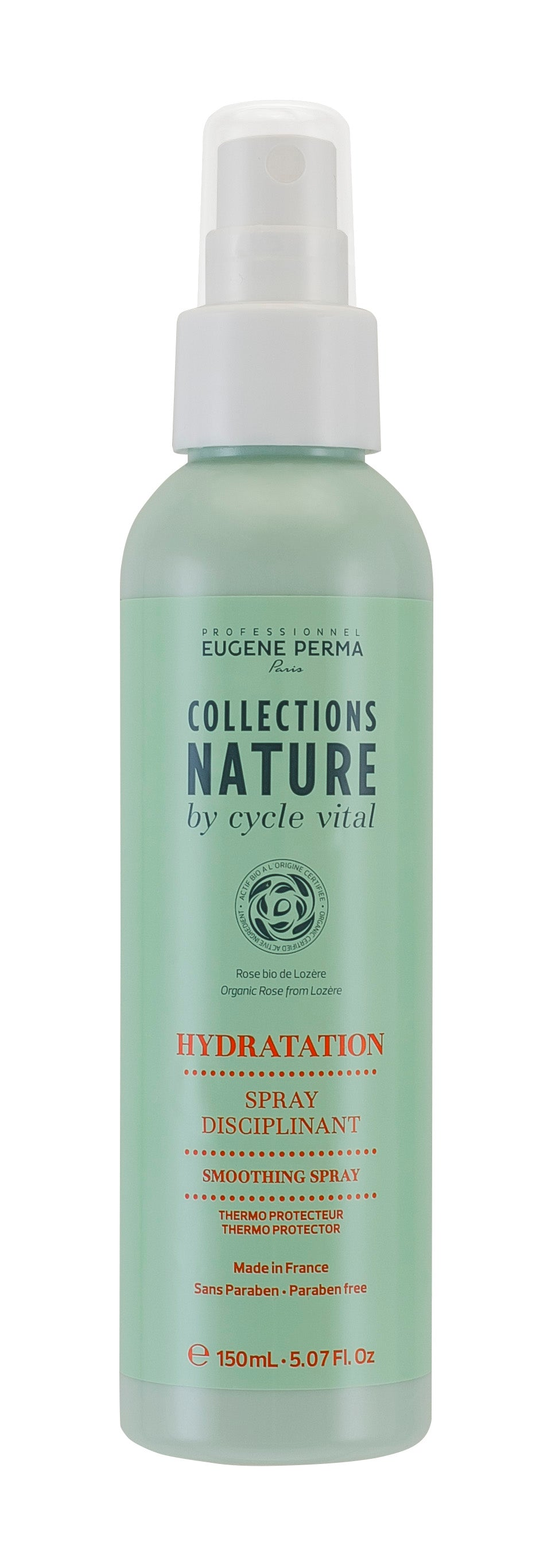 COLLECTION NATURE Spray Disciplinant Thermoprotecteur 150 ML | Eugène Perma Professionnel