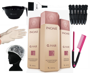 Inoar GHair Kit Lissage Brésilien German Keratin Treatment