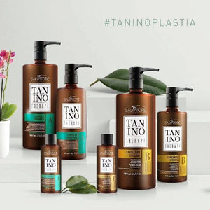 KIT 2*100ml Taninoplastie SALVATORE Tanino Therapy A+B- Lissage Tanin RÉDUCTEUR DE VOLUME