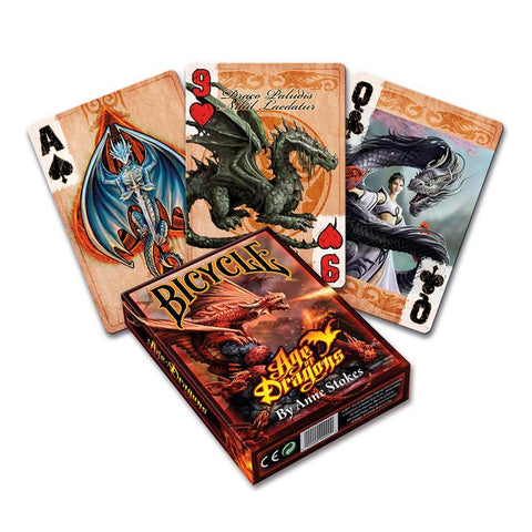 Age of Dragons Playing Cards - Anne Stokes (AW474)