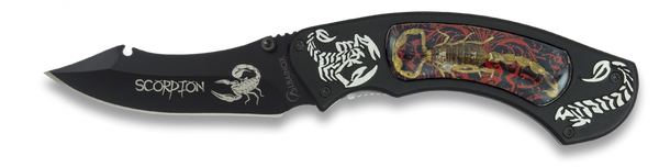 Scorpion (Red Version) Lock Knife (AW452)