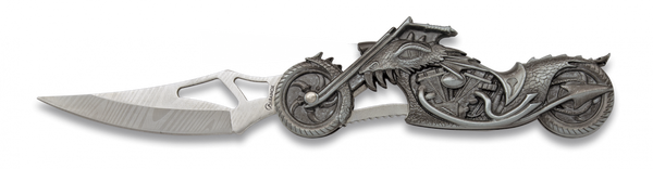 Dragon Eye Biker (LIGHT) Lock Knife (AW299)