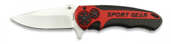 Sports Gear (Red) Lock Knife (AW301)