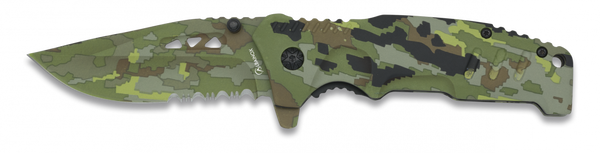 Army Green Lock Knife (AW458)
