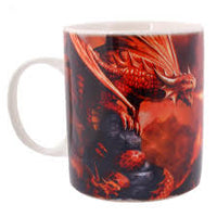 Fire Dragon Mug (Age of Dragons) Anne Stokes (AW831)