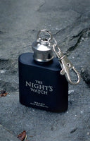 Night's Watch (Mini) Hip Flask - Game of Thrones (AW946)